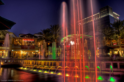Fountain at Cityplace