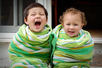 towel boys