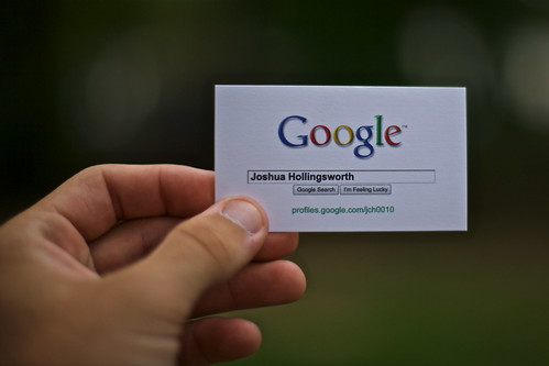 Day 6: Google Me by Joshua Hollingsworth