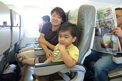 First flight (wilsonsantos) Tags: air bohol panglao zest