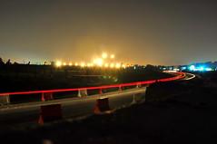 Follow the lines (nazlio69) Tags: light nature night lights nikon highway d90 18105vr nikond90club
