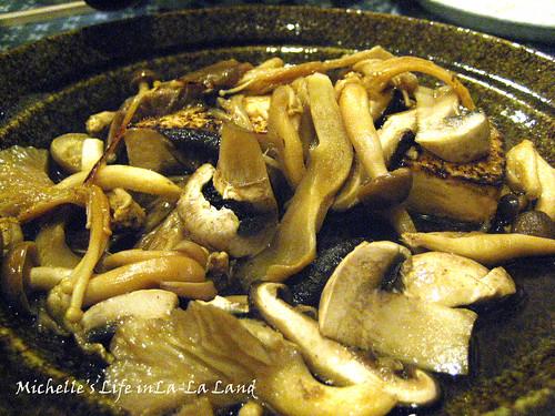 Hana No Ki- Mushroom Tofu