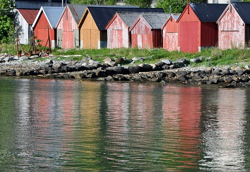 Naust - Boat houses in Norway