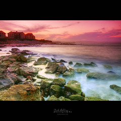 Rock Pools as Night Falls (Mike Golding) Tags: light sunset sea seascape colour clouds landscape southafrica rocks raw natural rich sigma naturallight 20mm hdr locations westerncape mosselbay mosselbaai f32 sigma1010