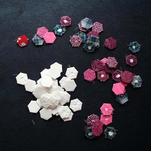 Hexagon pieces