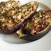 Eggplants with lentil stuffing