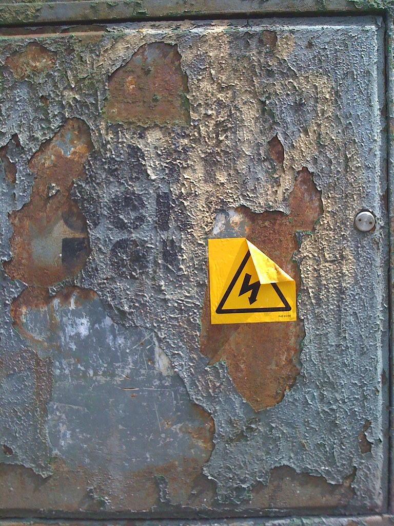 Danger on flaking paint