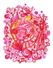 i heart you (* Little Circus Design *) Tags: tattoo illustration skulls skeleton pattern decorative australiana floralpattern brushandink thedayofthedead birdimages brushink melbourneart australianart contemporaryillustration blackandwhiteimages thejackywintergroup monochromaticcolour littlecircusdesign madeleinestamer littlebirdsville limitededitiongicleeprints australianillustration contemporaryfolkstyle
