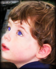 Look of wonder (jennihouston) Tags: boy cute smile childhood children eyes childseyes lookofwonder