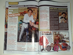 me in 8 Days magazine