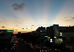 Glimpse of Summer's Heatwaves (2) (Rudy Sempur) Tags: sunset indonesia downtown afternoon borneo rayoflight kalimantan balikpapan colorfulsunset eastkalimantan abigfave eastborneo platinumphoto colorphotoaward nikoncoolpixp80