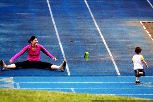 Athlete Runner Jogger Cake Topper