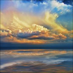 ~ Seen Scene ~ (ViaMoi) Tags: sunset sky orange ontario canada photography soft quebec ottawa horizon telephoto aylmer canon40d viamoi thesuperbmasterpiece 100commentgroup saariysqualitypictures