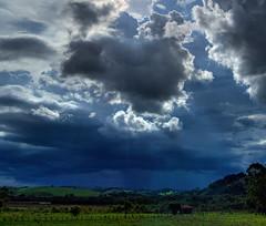 Storm (Al Santos) Tags: brazil minasgerais brasil clouds farm mg nuvens tempest fazenda raysoflight tempestade sotomdasletras sotom abigfave platinumheartaward