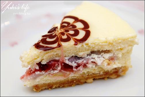 [試吃]*花語烘焙工坊-和風摩奇乳酪蛋糕