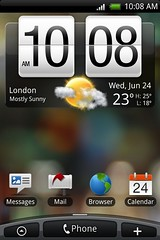 HTC Hero Android 4 Sense UI