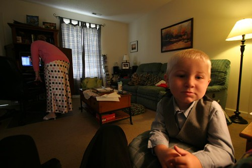 Cute Cooper, ready for church...