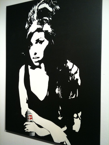 Blek le Rat - Amy Winehouse by Miss Kim SF
