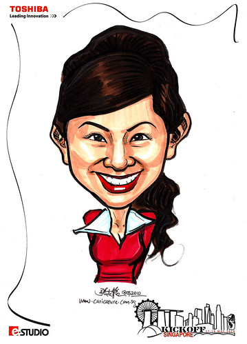 Caricature of Stephanie