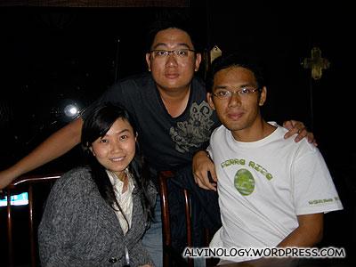 Me with Kok Kuan and Hairong