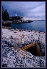 Point Atkinson From a Distance (Mrs. Terry) Tags: lighthouses searchthebest framed lanterns matted vancouverbccanada pointatkinsonlight photosbyterry copyright20042010byteresamforrest 252070804ptatkfromadistance