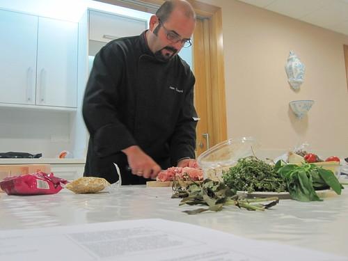 Joan Clement profesor de cocina