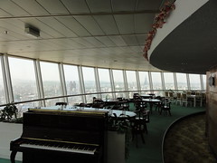 Inside the Yanggakodo Hotel revolving restaurant - Pyongyang (mikestuartwood) Tags: asian asia north korea communist communism korean socialist socialism northkorea dprk dpr northkorean dprkorea dprkorean
