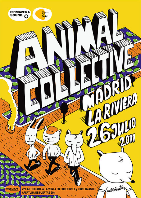animal collective live in madrid