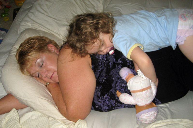 Autumn Sleeps On Grandma