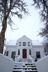 A grand old house (trigger.is) Tags: house snow akureyri eyrarlandsvegur