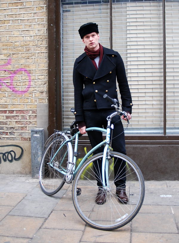 Biking on Brick Lane