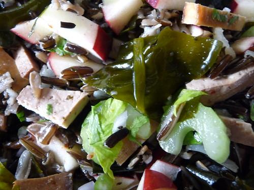 wild rice seaweed salad