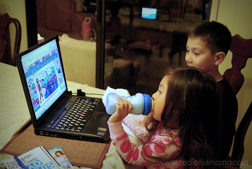 what kids of bloggers do together