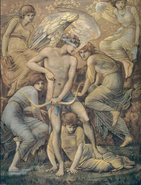Burne-Jones, Cupid's Hunting Fields, 1885