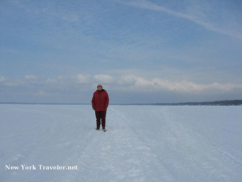 On Frozen Lake Oneida
