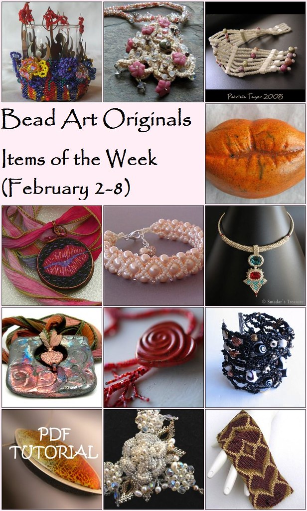 Bead Art Originals Items of the Week (2/2 - 2/8)
