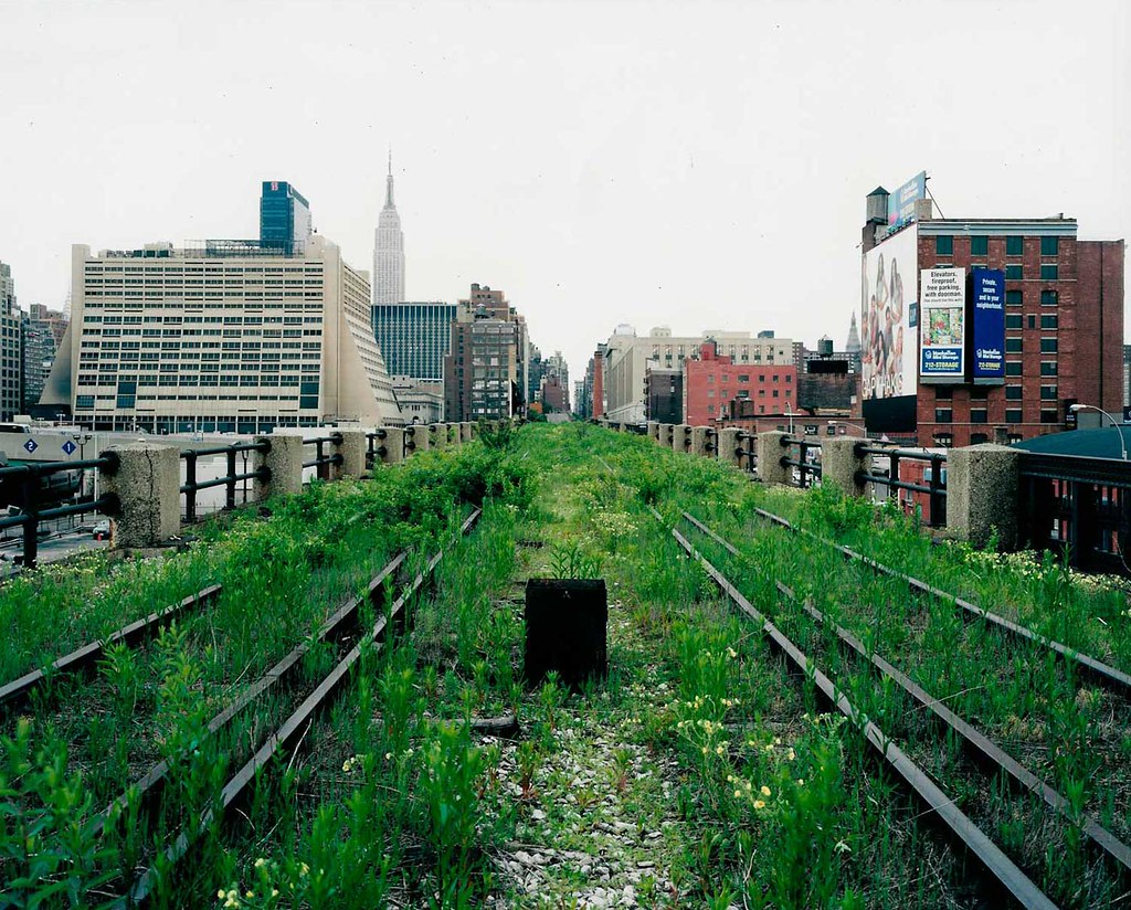 The High Line Before