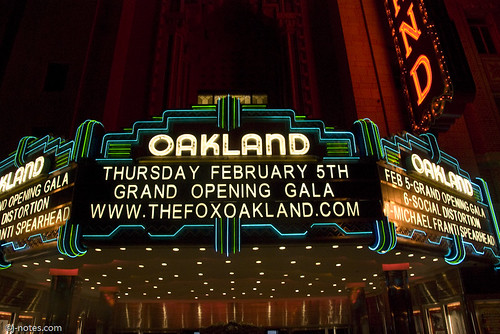 Fox Theatre Oakland Grand Opening Gala 09