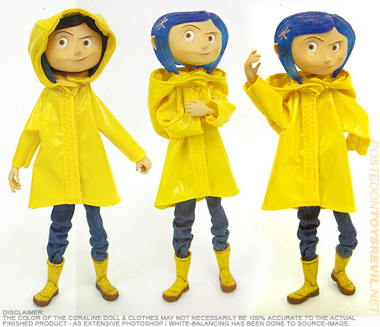 A Look At Coraline Bendy Dolls From Neca