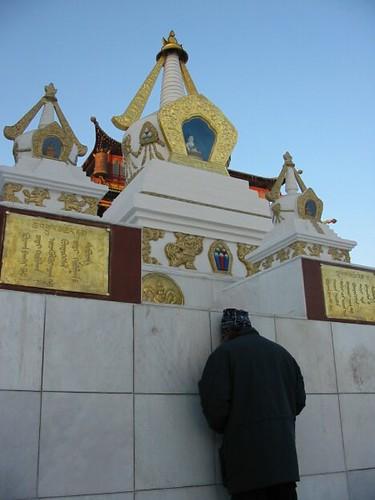 Praktizerend boeddhist