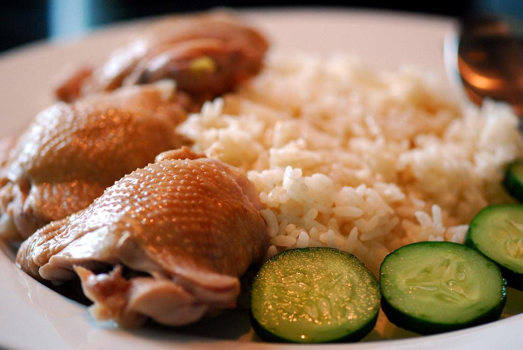 Singapore Hainan Chicken Rice ( Simplified Version )