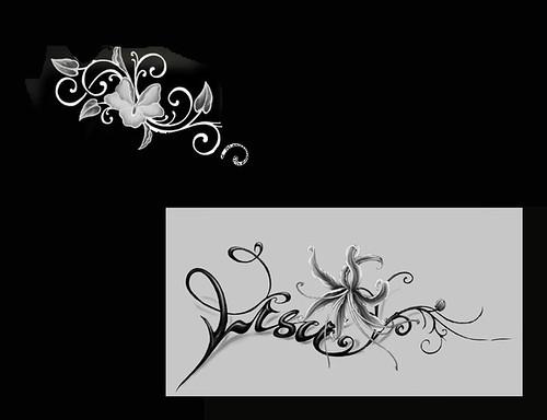 fire angel wing tattoos