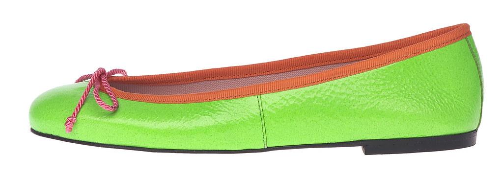 Rita green fluo & orange - side. PVP. 93€