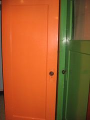 My door is orange