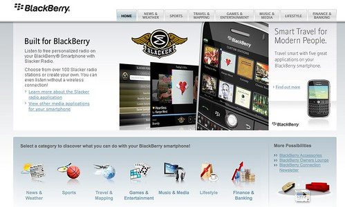 BlackBerry Apps Store
