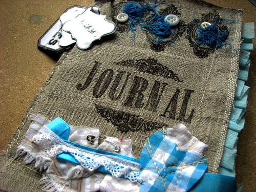 Etsy update : Linen journal kit