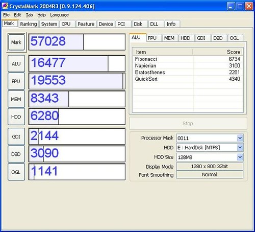 benchmark-fsc-u9200