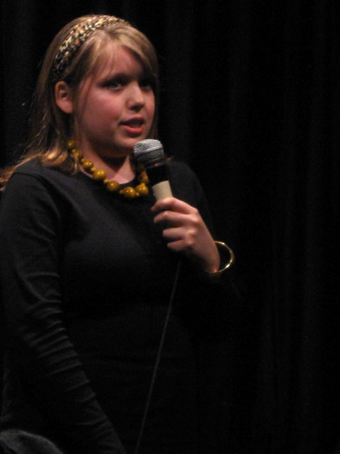 Sydney Davis @ Second City Training Center Teen Stand-up Student Show April 2, 2009