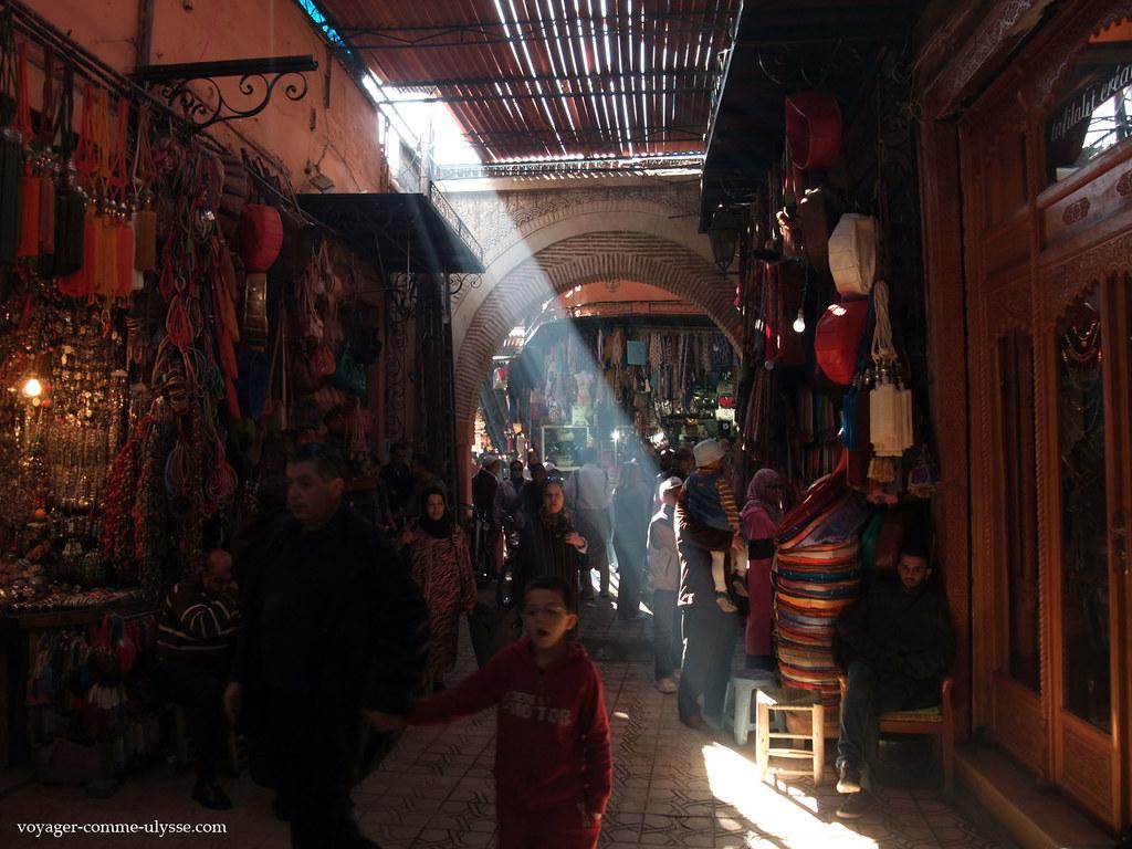 Rayon de soleil au souk