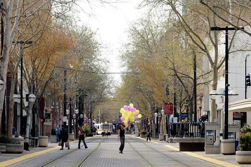 K Street pedestrian and transit mall, Sacramento